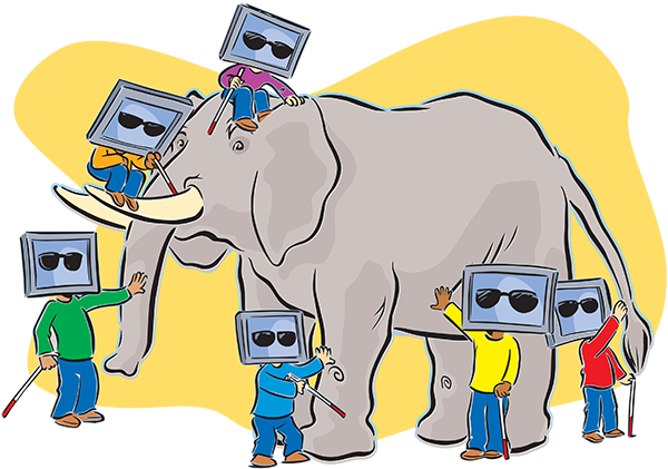 Information Governance Lessons from the Six Blind Men and the Elephant