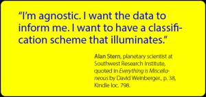 Classification that illuminates