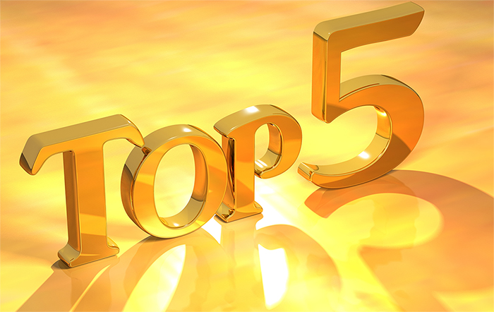 top 5 posts for 2016